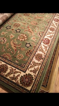 Brand new traditional design area rug size 8x11 nice green or beige Burke, 22015
