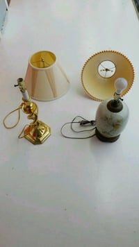 W TABL E LAMPS W/ SHADES VERY GOOD! Alexandria, 22304