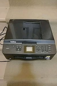 black Epson multi-function printer Trenton, K8V