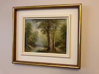 Wood frame painting Laval, H7M 5C1