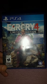 Used Farcry4 for ps4 Vancouver, V6A 1G1