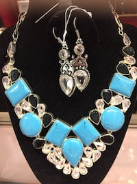 925 sterling silver st with gemstones  Mississauga, L4W 1C9
