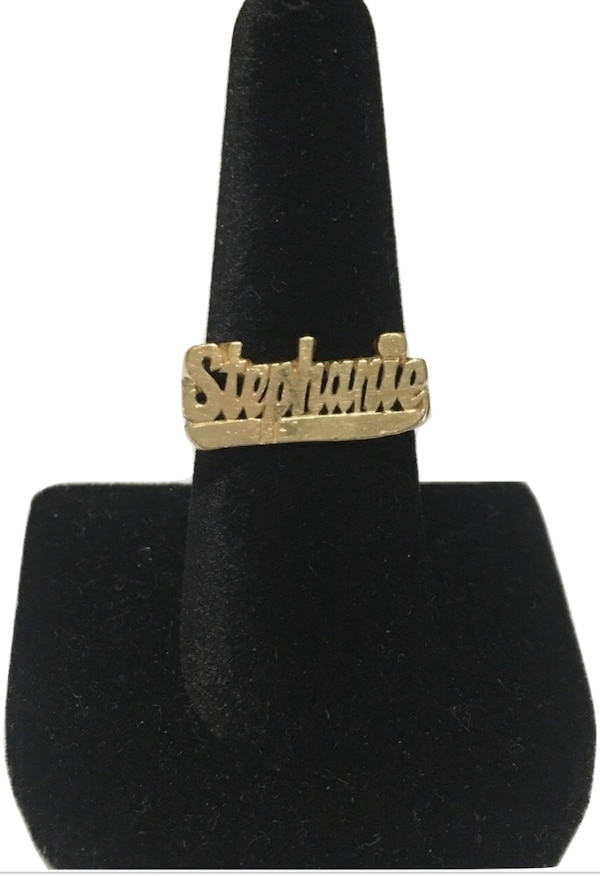 14k Stephanie ring