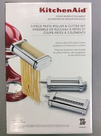 KitchenAid 3-Piece Pasta Roller & Cutter Set - NEW  Mississauga, L5J 1J7