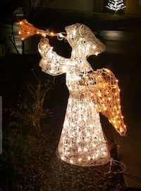 4 Ft.~3D-Animated, lighted, trumpet blowing, Angel 2064 mi