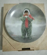 """""""Winter Angel"""" Collectable Plate Crest Hill, 60403"""