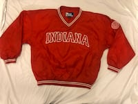Men's Indiana University Hoosiers by Pro Player Size Large Red White Washington, 20018