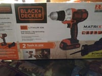 Black and Decker Matrix Drill and multi tool Campbell