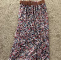 Women's multicolored floral skirt Brentwood, 15227