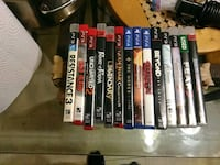 Ps4 and ps3 games Tulsa, 74136