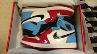 Air Jordan 1 Retro High OG Fearless UNC Chicago - Size 10 - New Mississauga