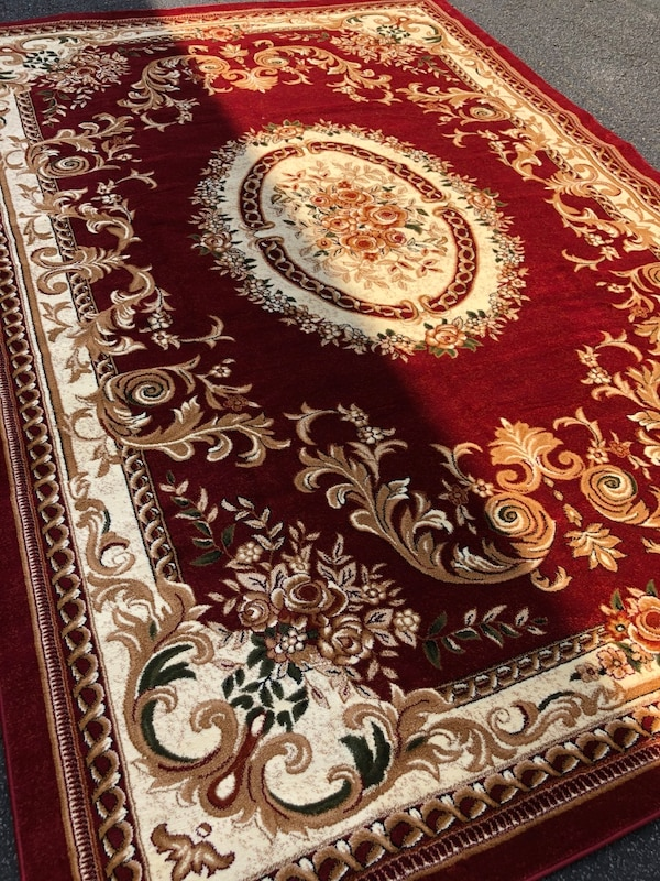 Brand new rug size 8x11 nice red carpet Persian design rugs and carpets