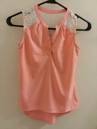 women's pink sleeveless top San Antonio, 78250