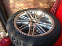 Auto Parts set 255 45 20 tires & Rims Winter tires Ford or Lincoln 9.5/10 Mississauga