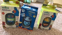 Three Sesame Street KidzMouse Never been used still in package. Make offer Blue and white fisher-price toy box 166 mi