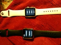 one black,one white colored Apple Watches Altamonte Springs, 32714