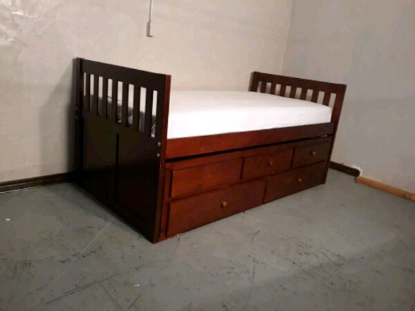 used twin bed trundle cama doble for sale in pasco letgo. Black Bedroom Furniture Sets. Home Design Ideas