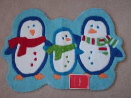 Penguin Indoor Rug - New!
