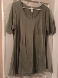 Lularoe solid greenish grey perfect t large Spokane, 99205