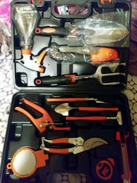 HEAVY DUTY GARDEN TOOLS WITH HARD CASE