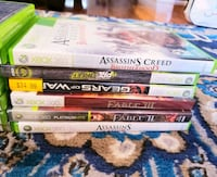Xbox games with controllers. Slightly used. Mississauga, L5B
