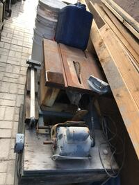 Grey table saw