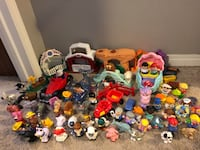 Huge fisher price little people lot