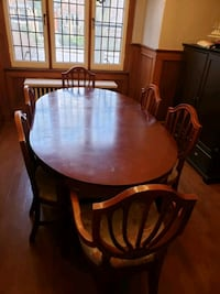Bombay cherry wood dining set