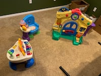 3 piece interactive toddler's toy
