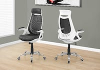 black-and-white office chairs Laval