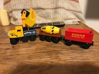 "Thomas Friends"" SODOR SET OF 4 Essex, 21221"