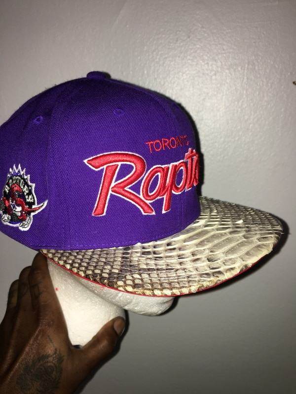 76ec7497d01dd4 Used Toronto RAPTORS throw back DON C/JUST DON hat for sale in New ...
