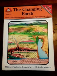 The Changing Earth w/ 12 Full Color Transparencies