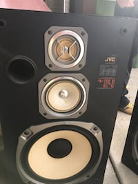 JVC 10 inch speakers (pair) sounds perfect