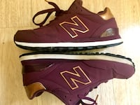 Burgundy & Gold Sneakers Oakland, 94602