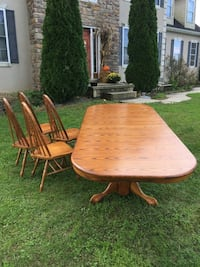 brown wooden dining table set Hagerstown, 21740