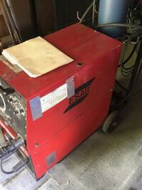 red and black Craftsman tool chest Halton Hills, L7G 2B4