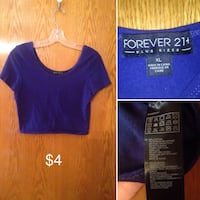 women's blue and red scoop-neck shirts Winnipeg, R2K