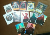Topps Star wars card lot with Autograph card Pueblo, 81001