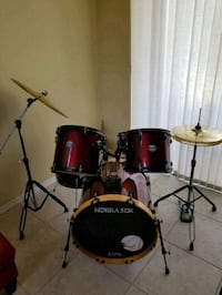7 piece American Drum Works set Pembroke Pines, 33024