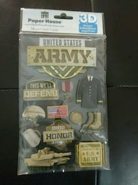 US ARMY 3D Stickers Killeen, 76543