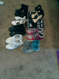 three pairs of assorted shoes Fresno, 93727