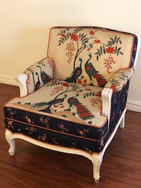 Antique French Victorian armchair Vancouver, V6E 1J2