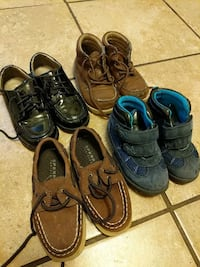 3 to 4 yrs boys shoes. Price is for all Jacksonville, 28540