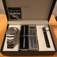 Watch and Pen Gift Set Silver Spring, 20906