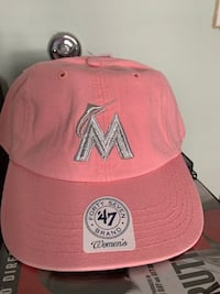 Women's pink Forty-Seven brand hat