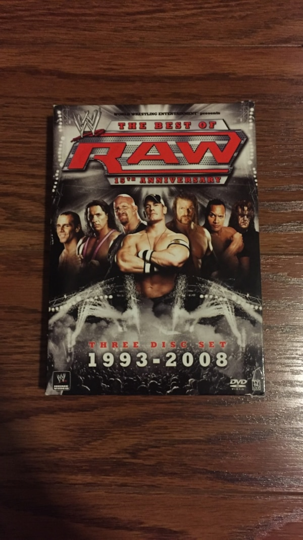 WWE the best of RAW, 15th anniversary