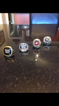 WWE Wrestling Hall of Fame rings Vaughan