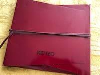 """KENZO wool silk scarf. New condition. 72"""" x 16"""". Original gift packing."""