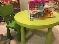 Ikea table and chair Oakville, L6M 3N2
